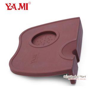 Yami Coffee Tamping Mat Màu Nâu