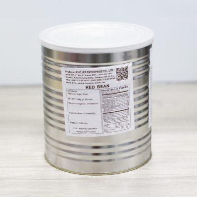 Đậu Đỏ Đóng Hộp FancyTea 3Kg - Red Bean Paste Chalatte