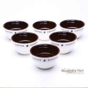 Coffe Cupping Bowl Yami Kiểm Tra Chất Lượng Cafe