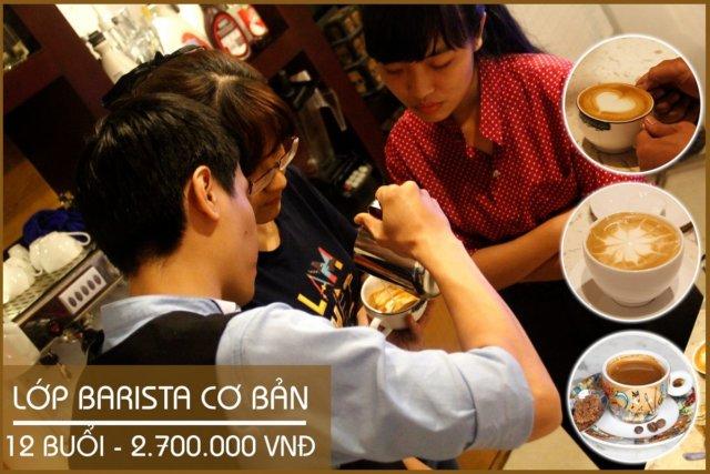 Đào Tạo Barista – Lớp Học Barista – Latte Art