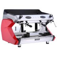 Máy Pha Cafe Ý Ladetina 2 Group Dòng Ferrari Màu Đỏ