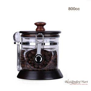 Coffee Been Canister - Hộp Đựng Cà Phê 800cc - YaMi-403WS