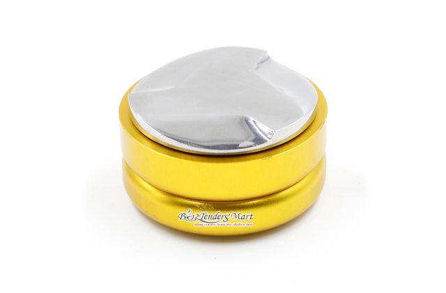 dụng cụ nén cà phê màu vàng - Button Tamper 01