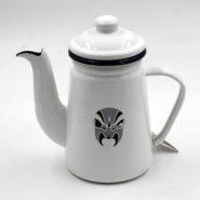 Bình Đun Nước Coffee Drip Kettle 1000cc Màu Trắng
