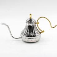 Bình Đun Nước Coffee Drip Kettle 450CC Màu Bạc-01
