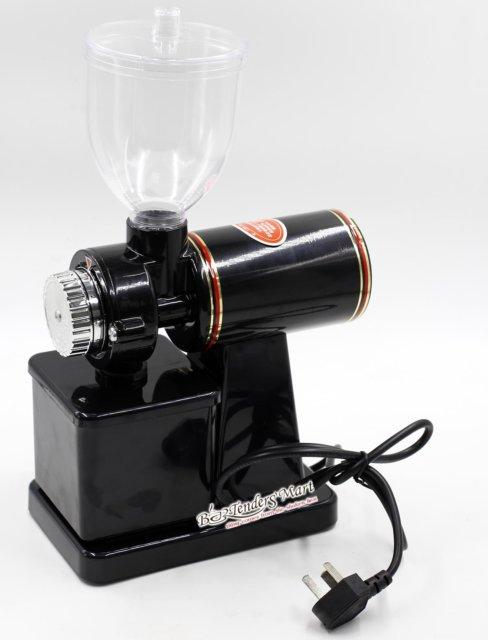 Máy Xay Cafe Mini Electric Lehehe Màu Đen 01