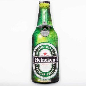 Nắp Mở Chai Trang Trí Hình Bia Heineken 03