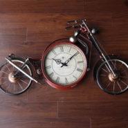 đồng hồ xe harley trang trí