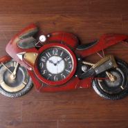 đồng hồ xe moto trang trí