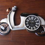 đồng hồ xe trang trí vespa