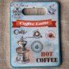 Tranh Sứ Hình Chữ Nhật Coffee Latte