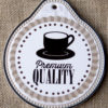 tranh sứ tròn hinh ly cafe 02