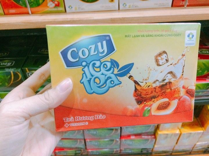 Trà cozy icetea hương đào