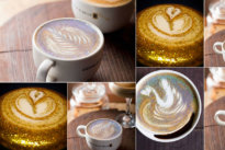 Các Ly cafe cappuccino lấp lánh độc đáo