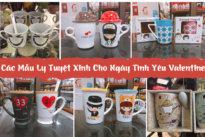 Các Mẫu Ly Tuyệt Xinh Cho Ngày Tình Yêu Valentine