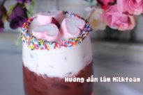 Hướng dẫn làm Milkfoam Butterscotch