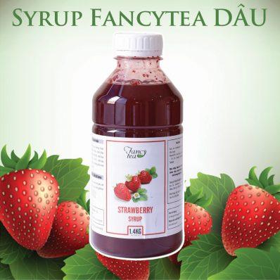 Syrup Fancytea Dâu