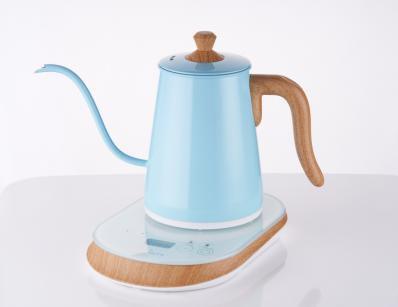 ấm đun nước Electronic drip kettle 0.6L blue