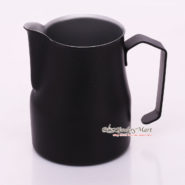 Ca Đánh Sữa YaMi 750ml Màu Đen - Teflon Milk Jug