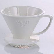 Phễu Lọc Cafe Yami 02 Màu Trắng - Coffee Dripper Cup V02