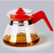 Bình Coffee Glass Jug YAMI Màu Đỏ 500cc - YM02R