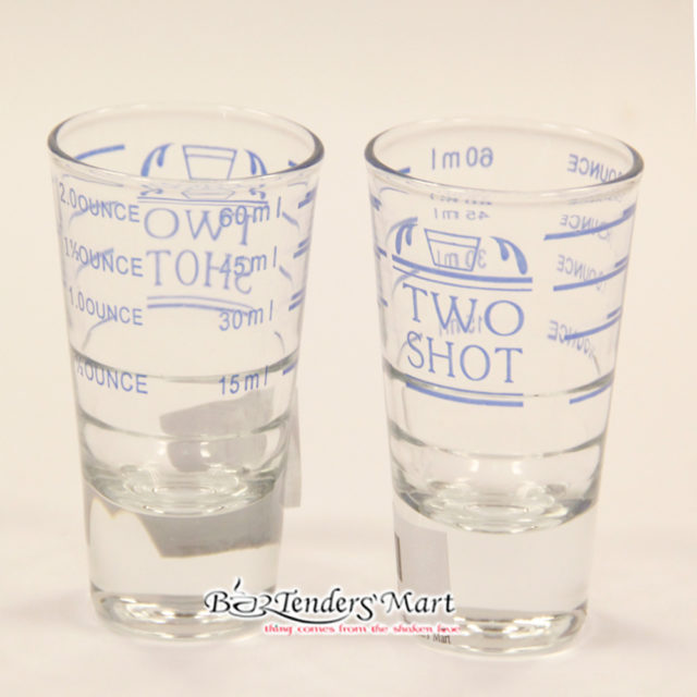 Espresso 2 Shot Glasses