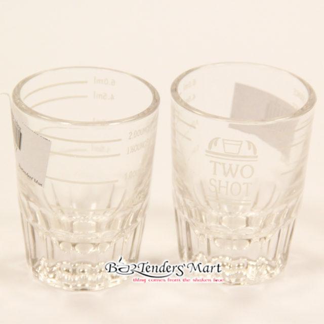 Espresso Two Shot Glasses