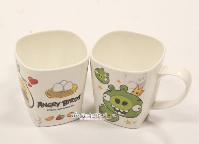 Ly Nhựa In Hình Angry Birds Dễ Thương 01