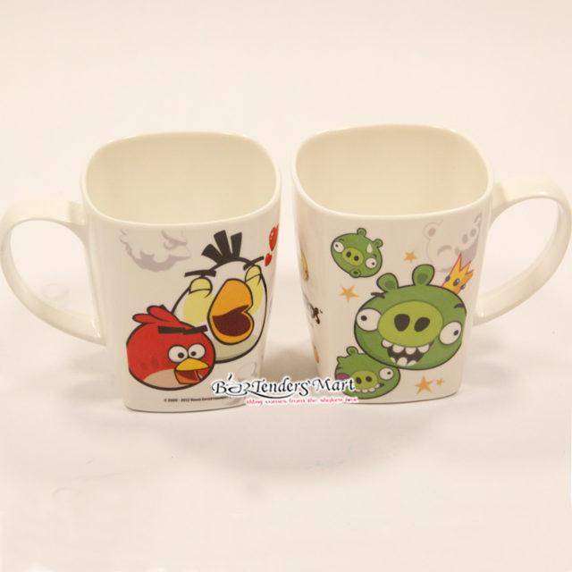 Ly Nhựa In Hình Angry Birds Dễ Thương