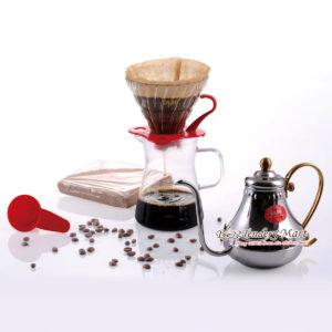 Bộ Drip Coffee VO2 Kèm Ly Và Bình Chuyên Dụng YAMI
