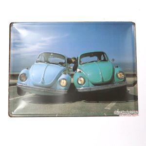 Tranh inox Vintage Love Cars