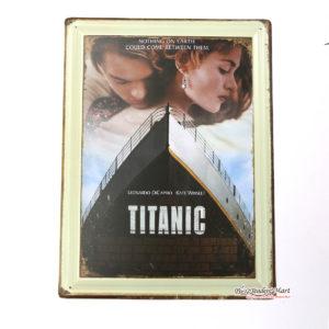 Tranh inox Hình Phim Titanic Trang Trí