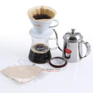 Set Drip Coffee VO2 Kèm Ly Và Bình Chuyên Dụng Yami