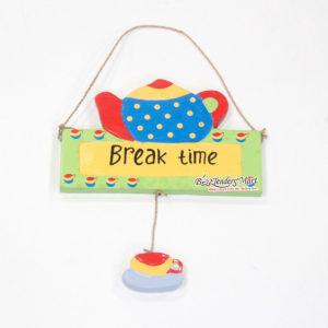 Bảng Gỗ Break Time