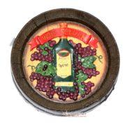 Bảng Gỗ Hình Chai Rượu Wine Cellar