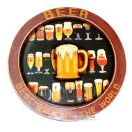 Bảng Gỗ Hình Ly Beer Trang Trí