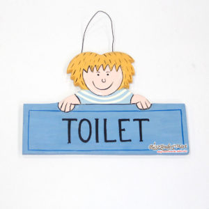 Bảng Gỗ Toilet TT4614
