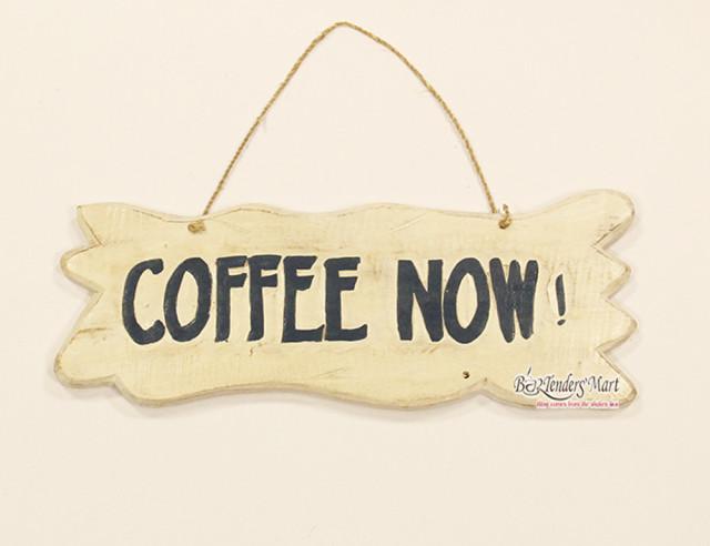 bang go treo trang tri coffee now 01