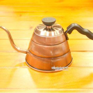Bình Đun Nước Coffee Pot 800ml Màu Đồng