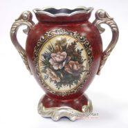 Bình Hoa Vintage Cổ Điển Màu Đỏ TTA10015