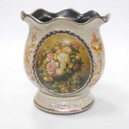 Bình Hoa Vintage Cổ Điển Màu Trắng TTA28020