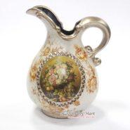 Bình Hoa Vintage Cổ Điển Màu Trắng TTA28026
