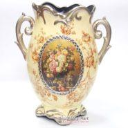 Bình Hoa Vintage Cổ Điển Màu Vàng TTA29040