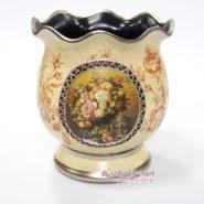 Bình Hoa Vintage Cổ Điển Màu Vàng TTA29020