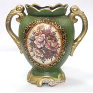 Bình Hoa Vintage Cổ Điển Màu Xanh TTA12015