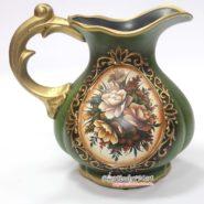 Bình Hoa Vintage Cổ Điển Màu Xanh TTA12024