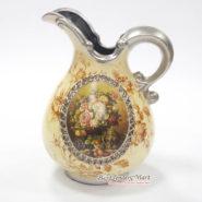 Bình Hoa Vintage Cổ Điển Màu Vàng TTA29026