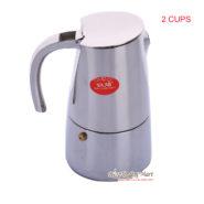 Bình Pha Cafe Moka Pot 2 Cups YM6009