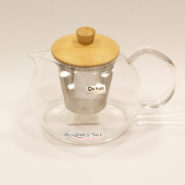 Bình trà chikao 0.6l nắp gỗ