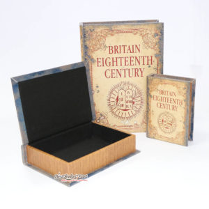 Bộ Sách Gỗ 3 Cuốn Britain Eighteenth Century